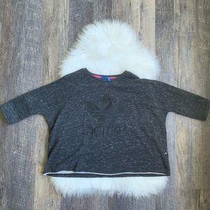 Adidas | Short Sleeve Sweatshirt